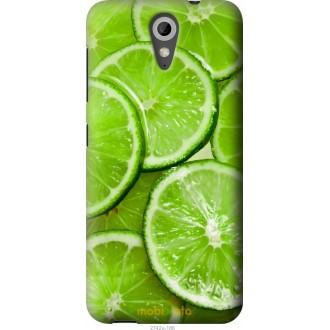Чехол на HTC Desire 620 Лайм