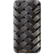 Чехол на HTC Desire 320 Металлические фоны