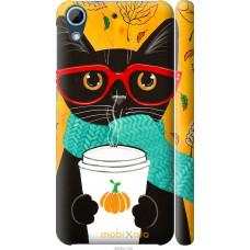 Чехол на HTC Desire 626G Осенний кот