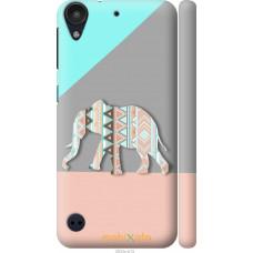 Чехол на HTC Desire 530 Узорчатый слон