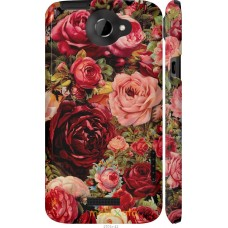 Чехол на HTC One X+ Прекрасные розы