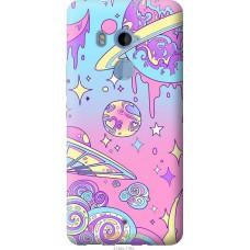 Чехол на HTC U11 Plus 'Розовый космос