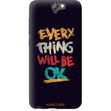 Чехол на HTC One A9 Everything will be Ok