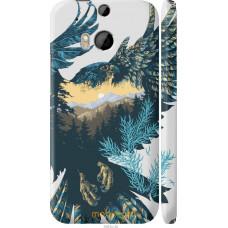 Чехол на HTC One M8 Арт-орел на фоне природы