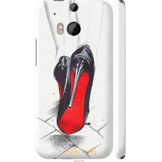 Чехол на HTC One M8 dual sim Devil Wears Louboutin
