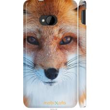 Чехол на HTC One M7 Рыжая лисица