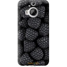 Чехол на HTC One M9 Plus Черная ежевика