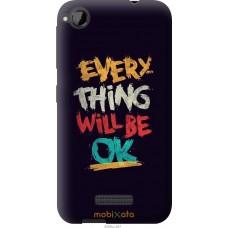 Чехол на HTC Desire 320 Everything will be Ok