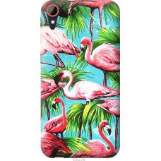 Чехол на HTC Desire 830 Tropical background
