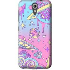 Чехол на HTC Desire 620 'Розовый космос