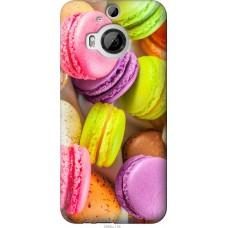 Чехол на HTC One M9 Plus Вкусные макаруны