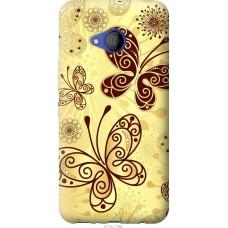 Чехол на HTC U11 Life Рисованные бабочки