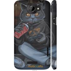 Чехол на HTC One X gamer cat