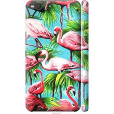Чехол на HTC One X9 Tropical background