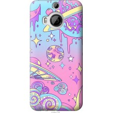 Чехол на HTC One M9 Plus 'Розовый космос