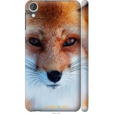 Чехол на HTC Desire 820 Рыжая лисица