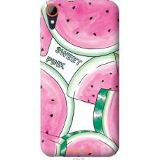 Чехол на HTC Desire 830 Розовый арбузик