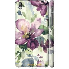 Чехол на HTC Desire 816 Акварель цветы