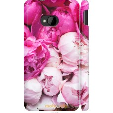 Чехол на HTC One M7 Розовые цветы