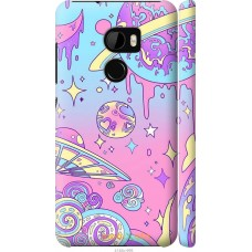 Чехол на HTC One X10 'Розовый космос