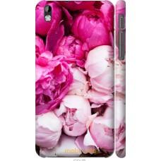 Чехол на HTC Desire 816 Розовые цветы