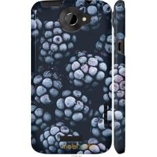Чехол на HTC One X Морозная ежевика