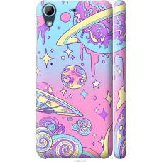 Чехол на HTC Desire 626G 'Розовый космос