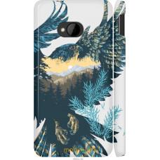 Чехол на HTC One M7 Арт-орел на фоне природы