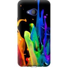 Чехол на HTC U11 Life брызги краски