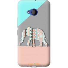 Чехол на HTC U11 Life Узорчатый слон