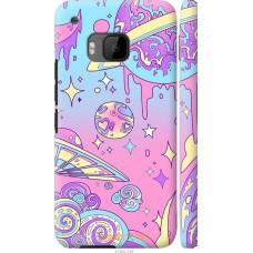 Чехол на HTC One M9 'Розовый космос
