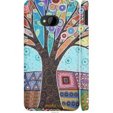Чехол на HTC One M7 Арт-дерево