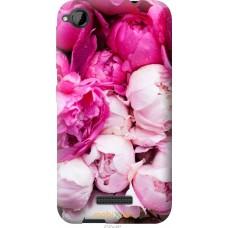 Чехол на HTC Desire 320 Розовые цветы