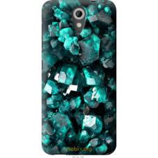 Чехол на HTC Desire 620G Кристаллы 2