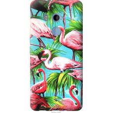 Чехол на HTC U11 Plus Tropical background