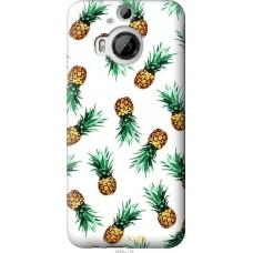 Чехол на HTC One M9 Plus Ананас