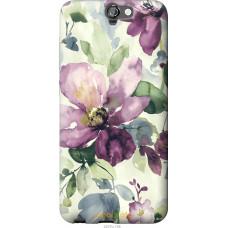 Чехол на HTC One A9 Акварель цветы