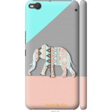 Чехол на HTC One X9 Узорчатый слон