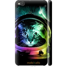 Чехол на HTC One X9 Кот космонавт