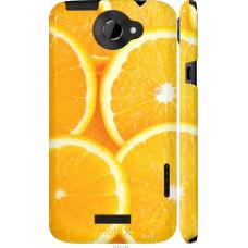 Чехол на HTC One X Апельсинки