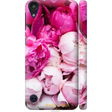 Чехол на HTC Desire 530 Розовые цветы