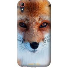 Чехол на HTC Desire 830 Рыжая лисица