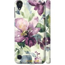 Чехол на HTC Desire 530 Акварель цветы