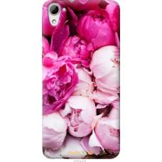 Чехол на HTC Desire 826 dual sim Розовые цветы