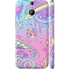 Чехол на HTC One M8 'Розовый космос