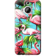 Чехол на HTC One M9 Plus Tropical background