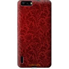 Чехол на Huawei Honor 6 Plus Чехол цвета бордо