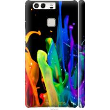 Чехол на Huawei P9 брызги краски