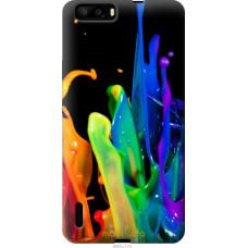 Чехол на Huawei Honor 6 Plus брызги краски