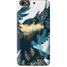 Чехол на Huawei Honor 4C Арт-орел на фоне природы